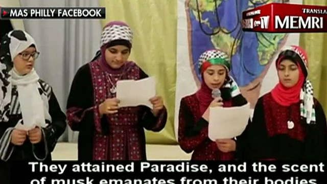 Video shows kids in a Philadelphia Islamic Center vowing to 'sacrifice their lives all in the name of Allah'