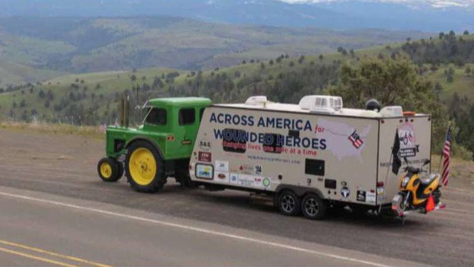 Retired farmer teams up with Operation Second chance to support wounded veterans