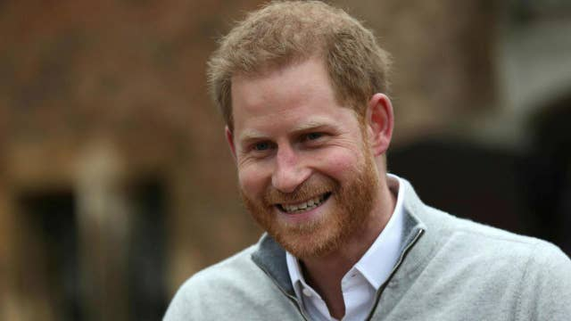 Beaming Prince Harry announces birth of baby boy with wife Meghan Markle thumbnail