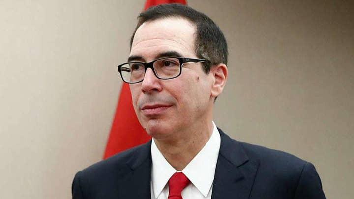 Treasury Secretary Mnuchin rejects Democrats' request for President Trump tax returns