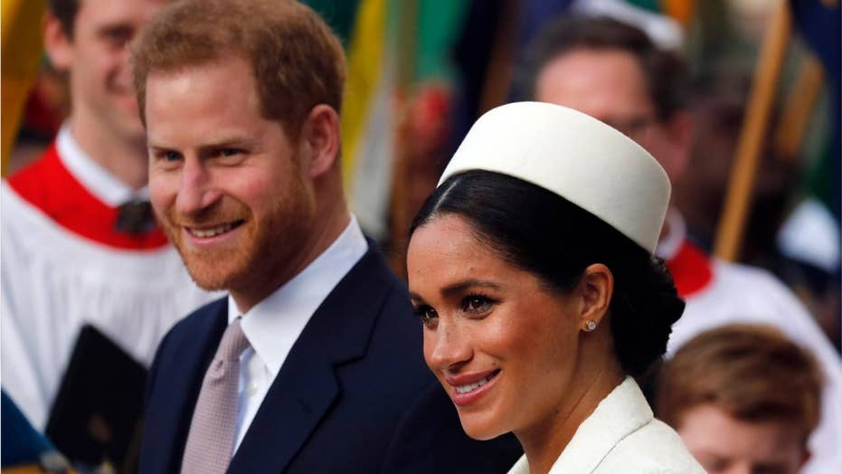 8d88ed46ad8d9 All the ways Meghan Markle and Prince Harry broke protocol ahead of ...