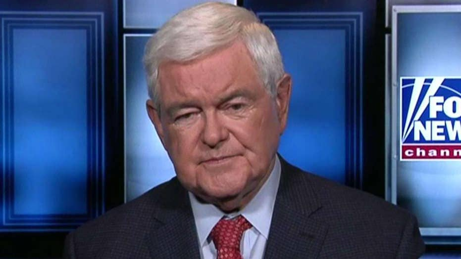 Gingrich: The economy is getting stronger and better, and it has nothing to do with Obama