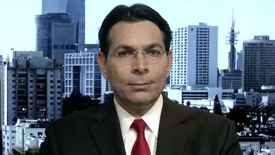 Amb. Danny Danon: Iran is sponsoring terrorism in the Middle East