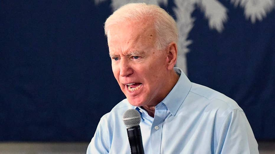 Biden wades into nickname battle with Trump, calls president a 'clown'