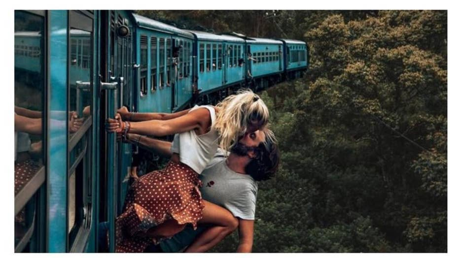 Instagram couple stirs up harsh criticism for daredevil photo