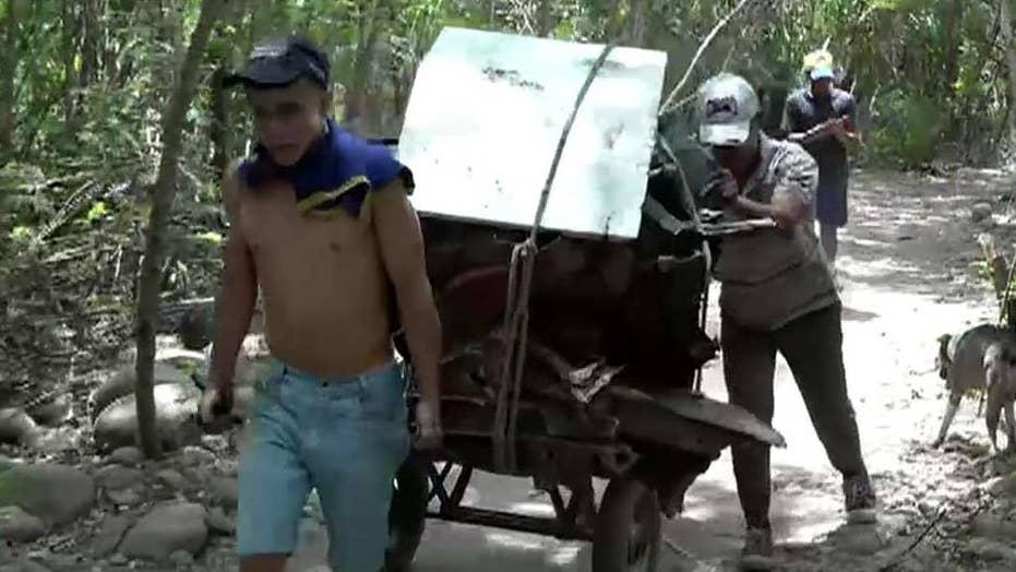 Venezuelans face dangerous trek into Colombia