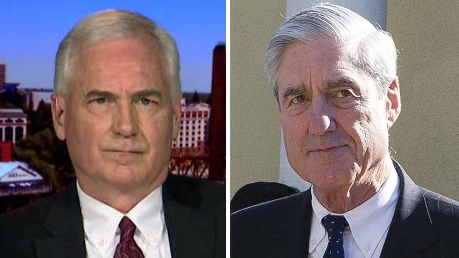 Rep. McClintock: There are a lot of questions I'd like to ask Robert Mueller