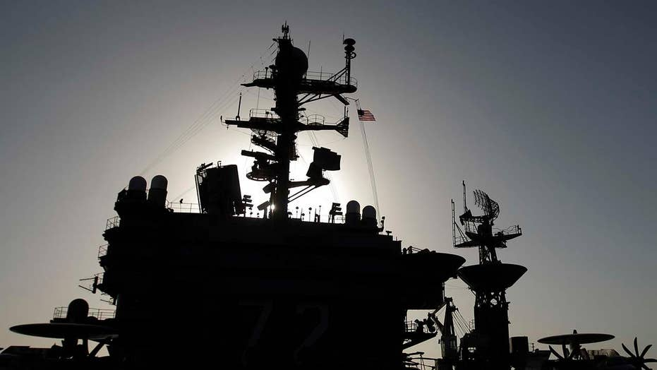 US sends warships to Mideast as warning to Iran