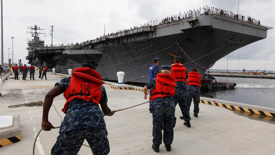 USS Lincoln deployed to Middle East to send 'clear and unmistakable' message to Iran