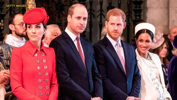 Prince William, Kate Middleton share sweet message for Meghan Markle, Prince Harry's royal baby