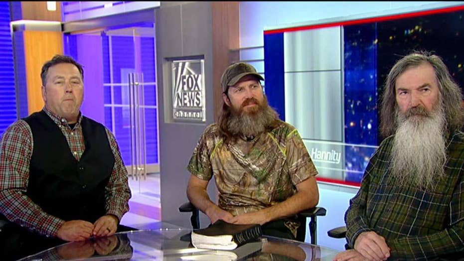'Duck Dynasty' stars on faith, family, and politics