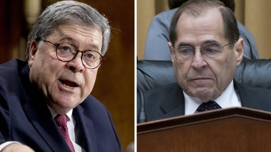 Nadler schedules vote to hold Barr in contempt of Congress