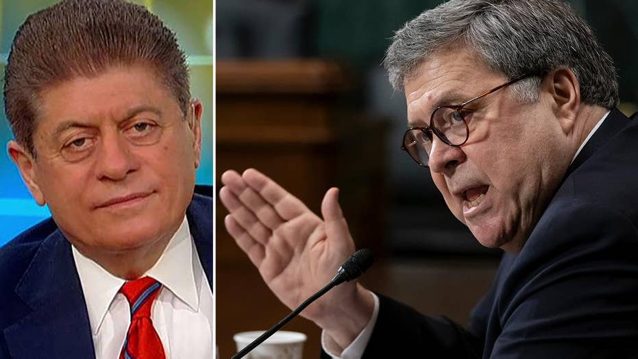 Judge Napolitano on Barr battle: Contempt shouldn't be used as a political weapon