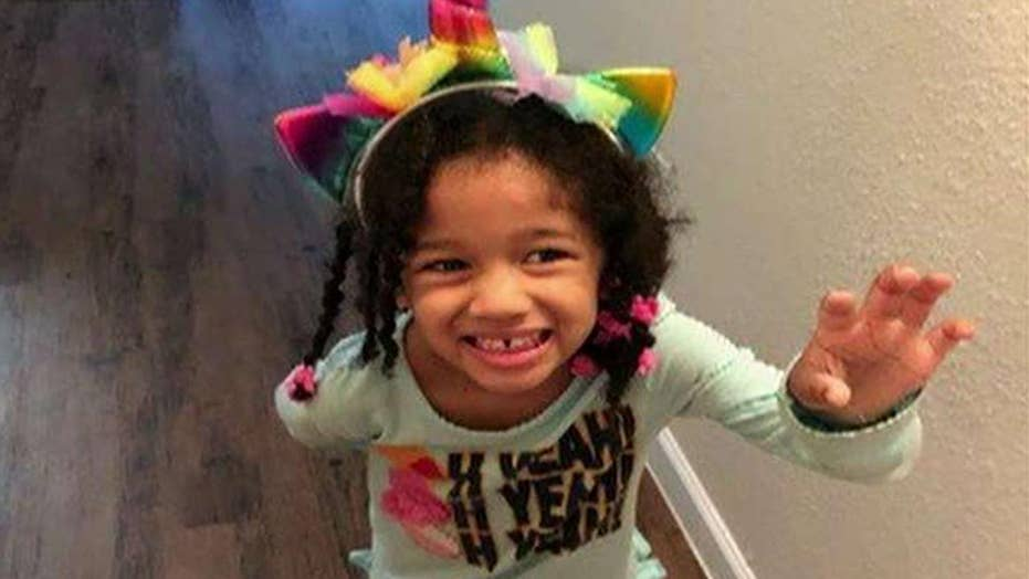 Stepfather claims missing 4-year-old Texas girl was abducted by three men
