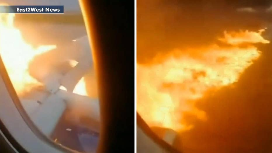 Terrifying footage emerges from fiery Moscow plane crash