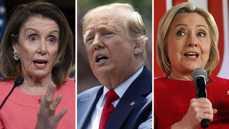 Pelosi worries Trump would not accept defeat in 2020 as Clinton claims 2016 election was 'stolen' from her