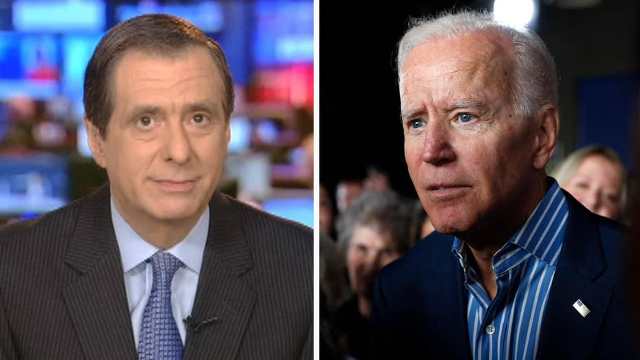 Howard Kurtz: Biden's early dominance forces rivals to re-frame debate