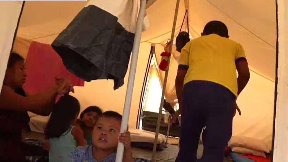 بحران در ونزوئلا: سازمان ملل متحد اردوگاه پناهندگان در مییکو، کلمبیا را راه اندازی می کند