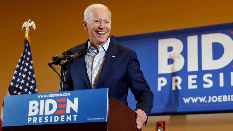 Supporter to Biden: You can hug and kiss me anytime