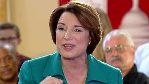 Amy Klobuchar: Everyone in this country should see healthcare as a right