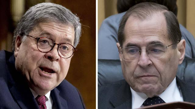 Nadler, Barr head towards contempt showdown