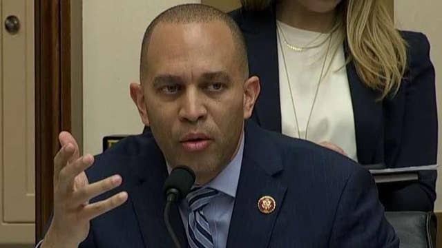 Rep. Hakeem Jeffries claims Russia interference artificially placed President Trump in the White House