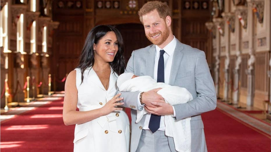Prince Harry and Meghan Markle exhibit Baby Sussex's name