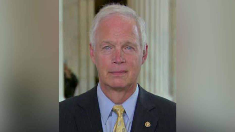 Sen. Ron Johnson hopes release of Strzok-Page texts, emails will prod IG to investigate potential intel leaks