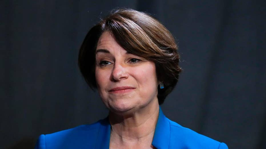 2020 candidate Sen. Amy Klobuchar looks for path in crowded Democratic field