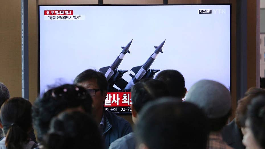 North Korea fires 2 short-range missiles, 5 days after previous launch