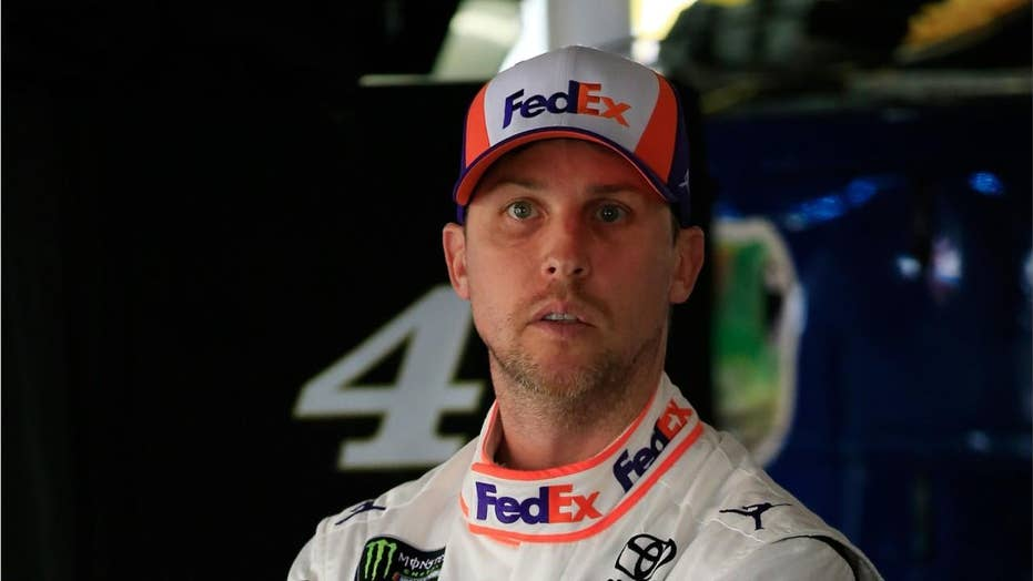 NASCAR driver Denny Hamlin suffers carbon monoxide poisoning during race