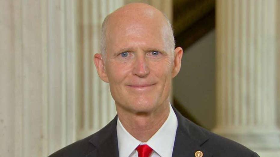 Sen. Rick Scott predicts a big 2020 win for Trump in Florida