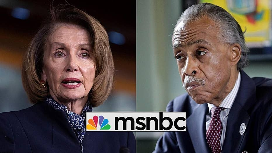 Nancy Pelosi's meeting with MSNBC host Al Sharpton raises eyebrows