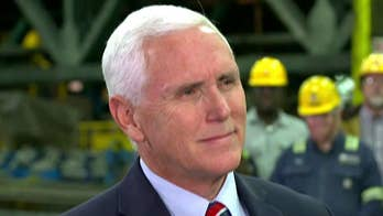 Pete goes one-on-one with Vice President Mike Pence in St. Paul, Minnesota