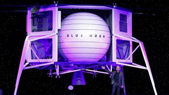 Amazon founder Jeff Bezos reveals spacecraft he wants to send to the moon