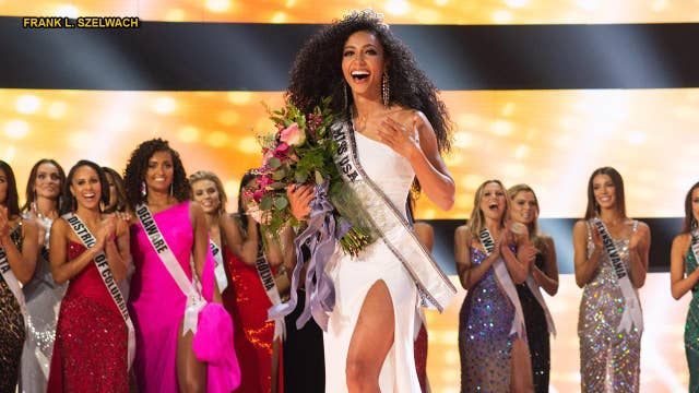 Miss USA 2019 explains what happened during the swimsuit competition, reacts to Kim Kardashian studying law
