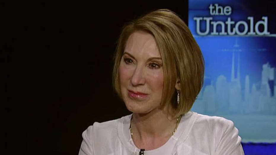 The untold story of Carly Fiorina