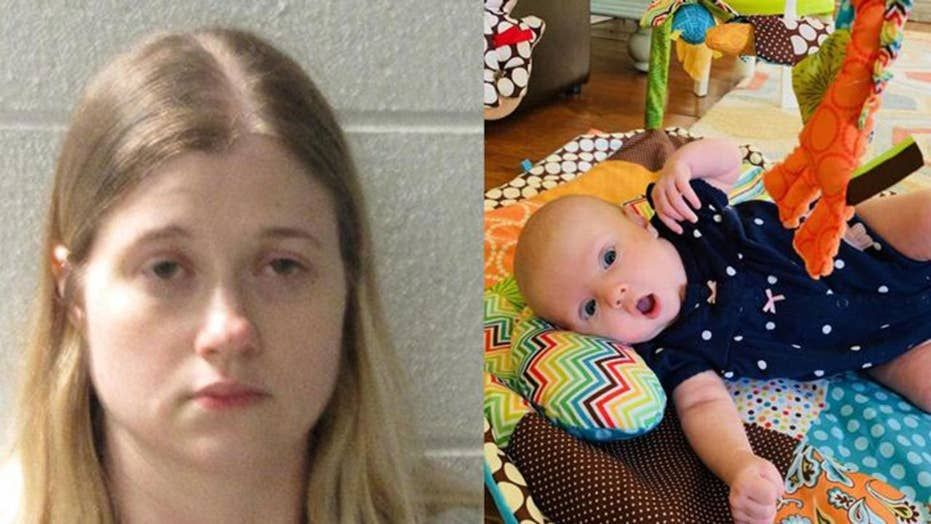 Infant survived after being tossed down a ravine by her mother
