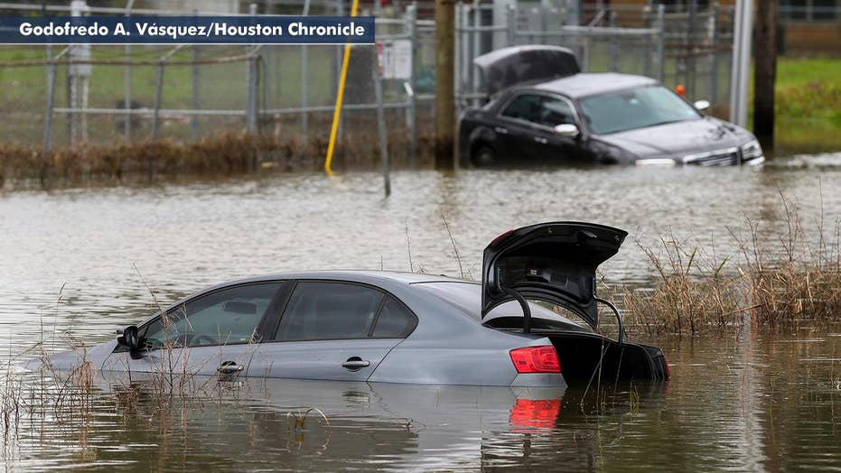 Severe storms bring torrential rain, hail and flooding to Houston