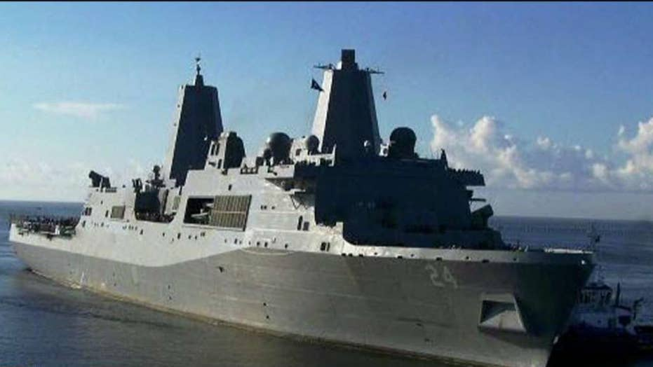 Pentagon deploys warship, Patriot missile battery to Middle East