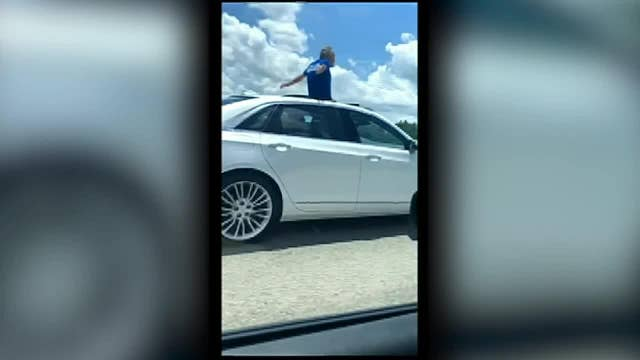 Florida man stands in sunroof while driving thumbnail