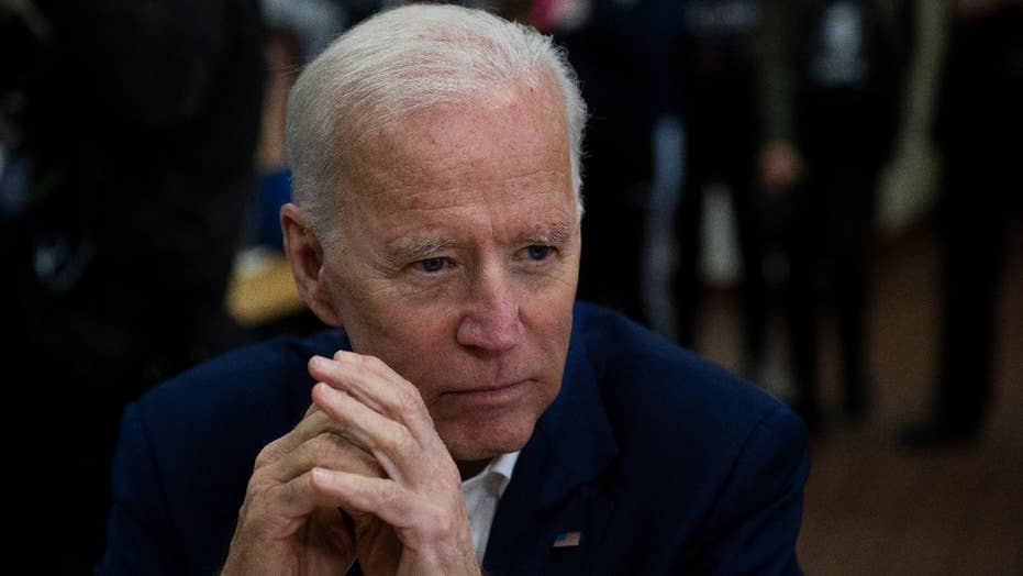 Monmouth University poll shows Joe Biden leading the Democratic primary field in New Hampshire