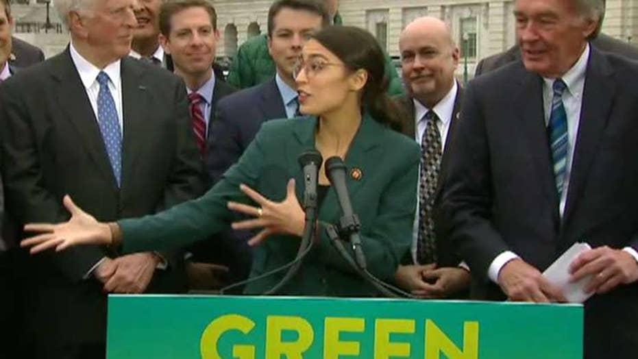 Ocasio-Cortez calls Biden's climate change plan 'a deal-breaker.'