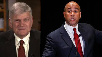 Franklin Graham slams Booker: 'Obvious he doesn't understand the power of prayer'