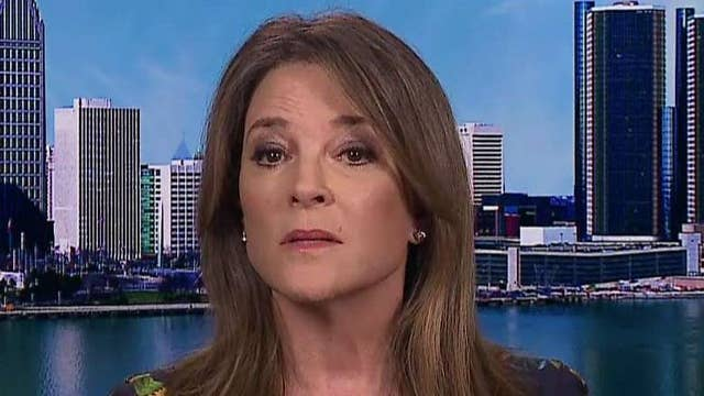Democratic presidential candidate Marianne Williamson praises Trump's tough stance on China
