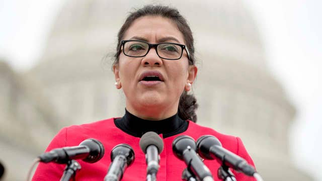 Rep. Rashida Tlaib faces backlash over remarks on Holocaust, Israel