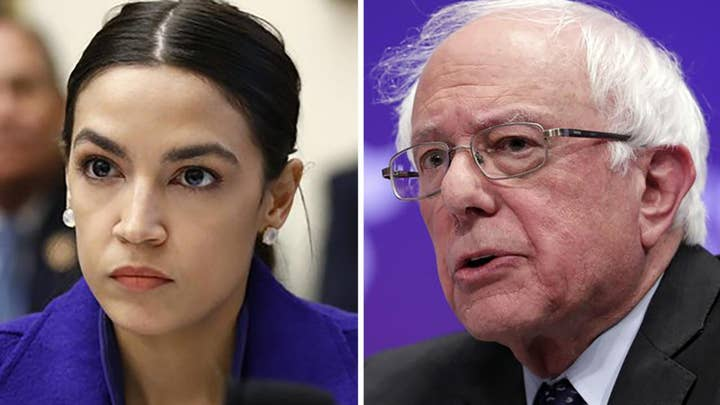 Alexandria Ocasio-Cortez and Bernie Sanders team up to push the 'Green New Deal'
