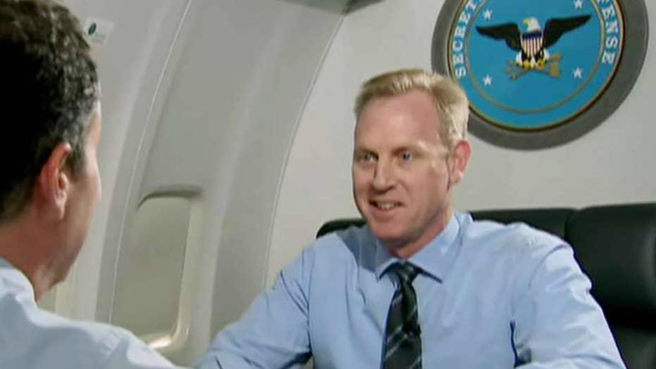 Exclusive: Acting Defense Secretary Patrick Shanahan talks securing the border, handling North Korea and China