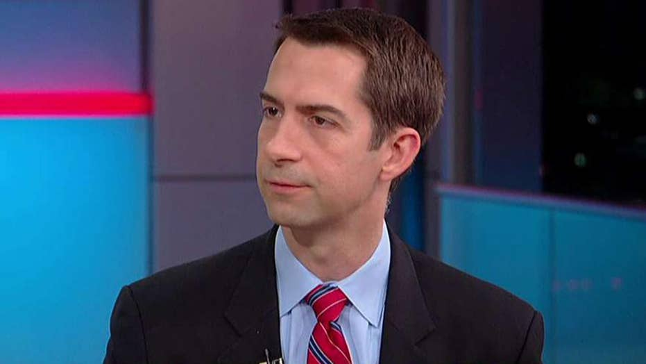 Sen. Tom Cotton gives a glimpse of Arlington National Cemetery through the eyes of the Old Guard