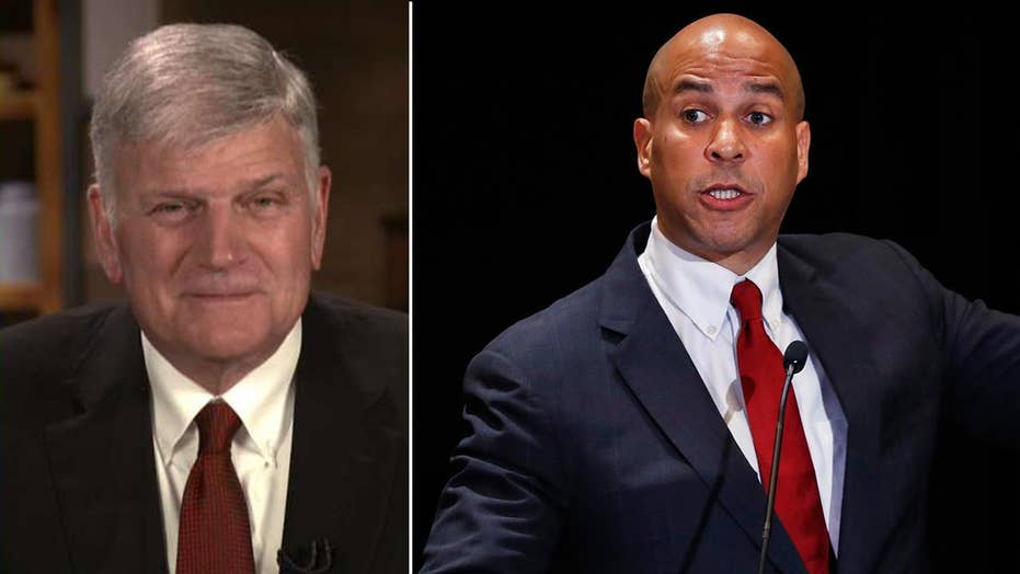 Franklin Graham: Cory Booker doesn't understand the power of prayer